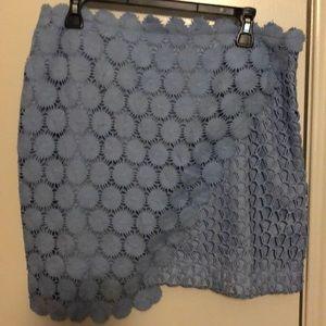 Top shop asymmetrical skirt